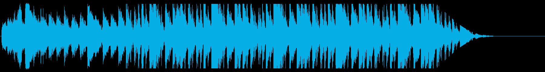 クールなグルーヴ感のあるドラム&ピアノの再生済みの波形