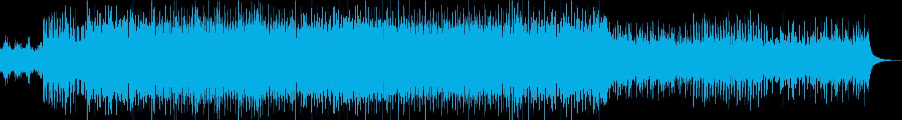 爽やかなEDMエレクトロの再生済みの波形