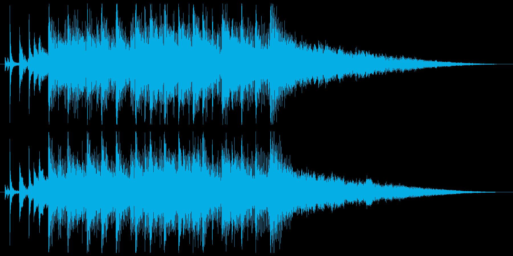 【ゲスト登場のBGM】爽やかソウルポップの再生済みの波形