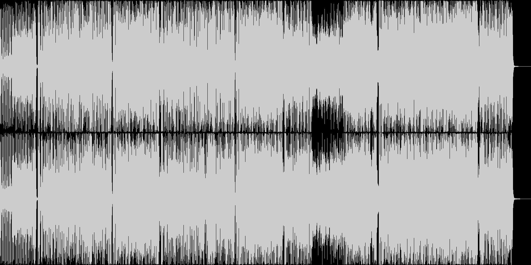 ゴージャス&ソウルフルなファンクロックの未再生の波形