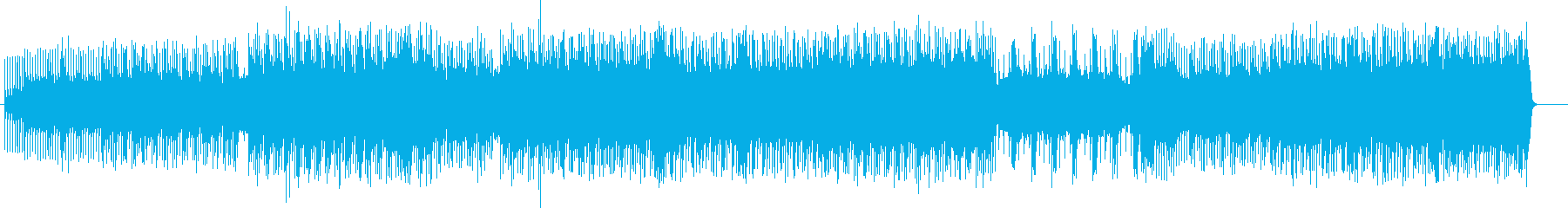 緊張感、緊迫感のあるバトルBGMの再生済みの波形