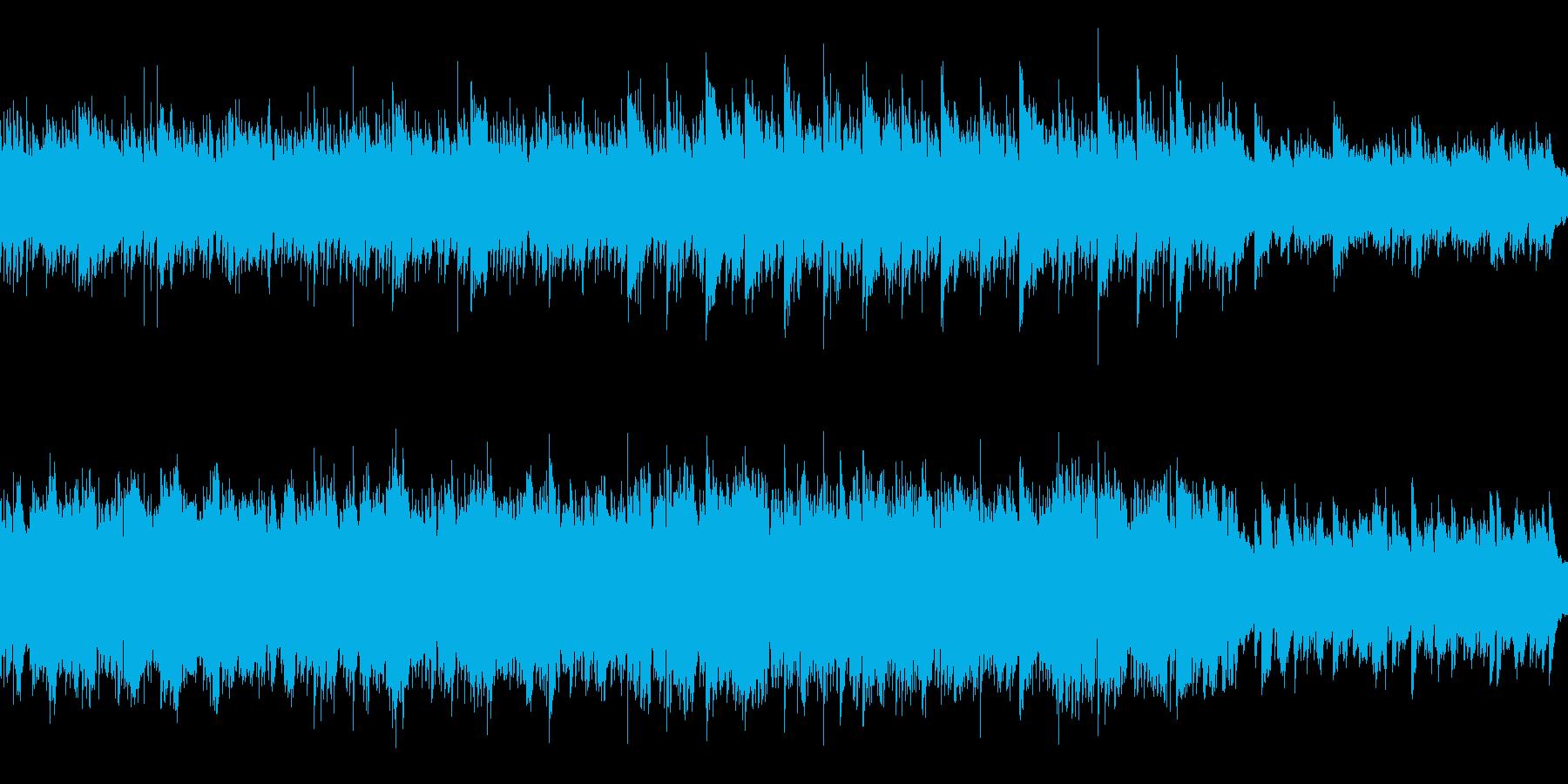 ループ 企業VP、CMに 穏やかなピアノの再生済みの波形