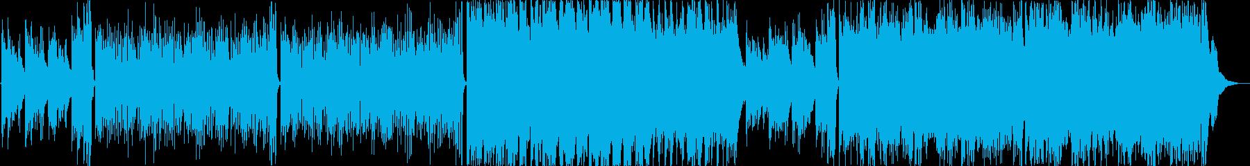 暖かくさわやかなアコギによるインストの再生済みの波形
