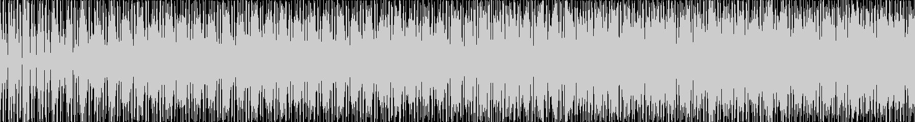奇妙な感じのループ曲ですの未再生の波形