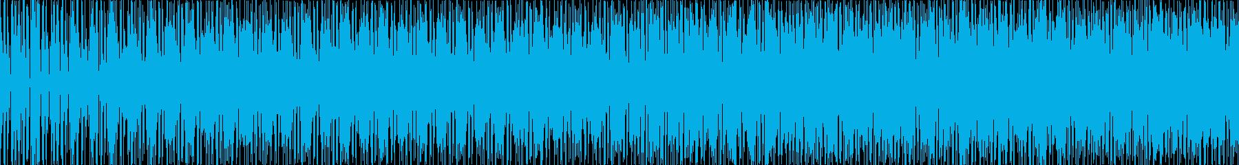 奇妙な感じのループ曲ですの再生済みの波形