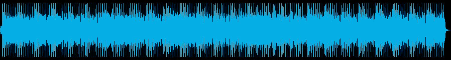 やさしいフルートの切ないポップスビート1の再生済みの波形