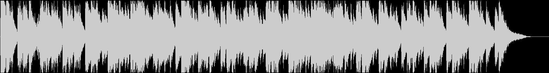 バロック 16bit48kHzVerの未再生の波形