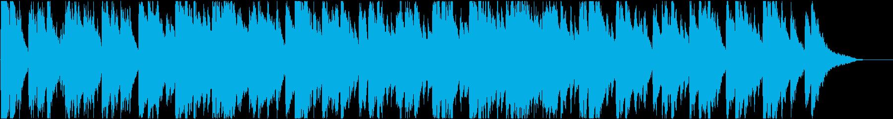 バロック 16bit48kHzVerの再生済みの波形