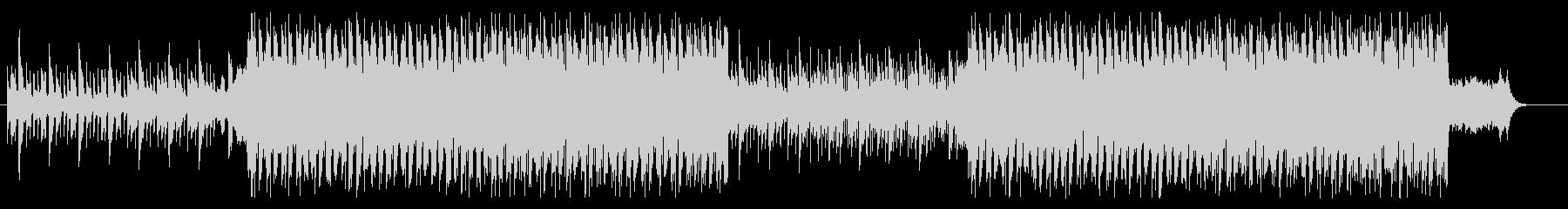 クリスマス EDM アップテンポ ベルの未再生の波形