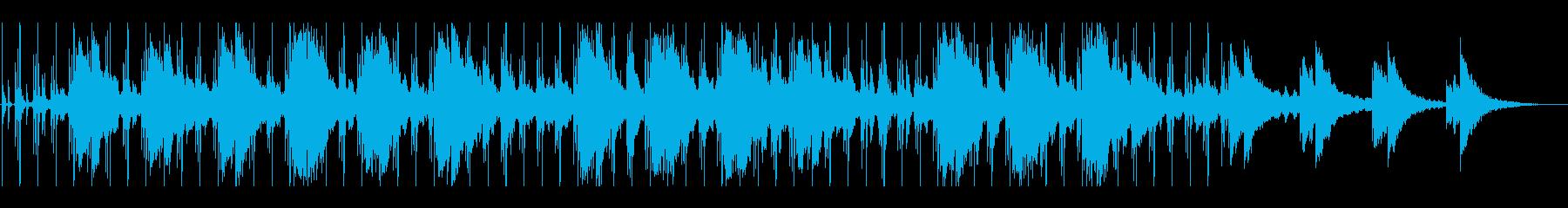 スローRoadMovieサウンドトラックの再生済みの波形