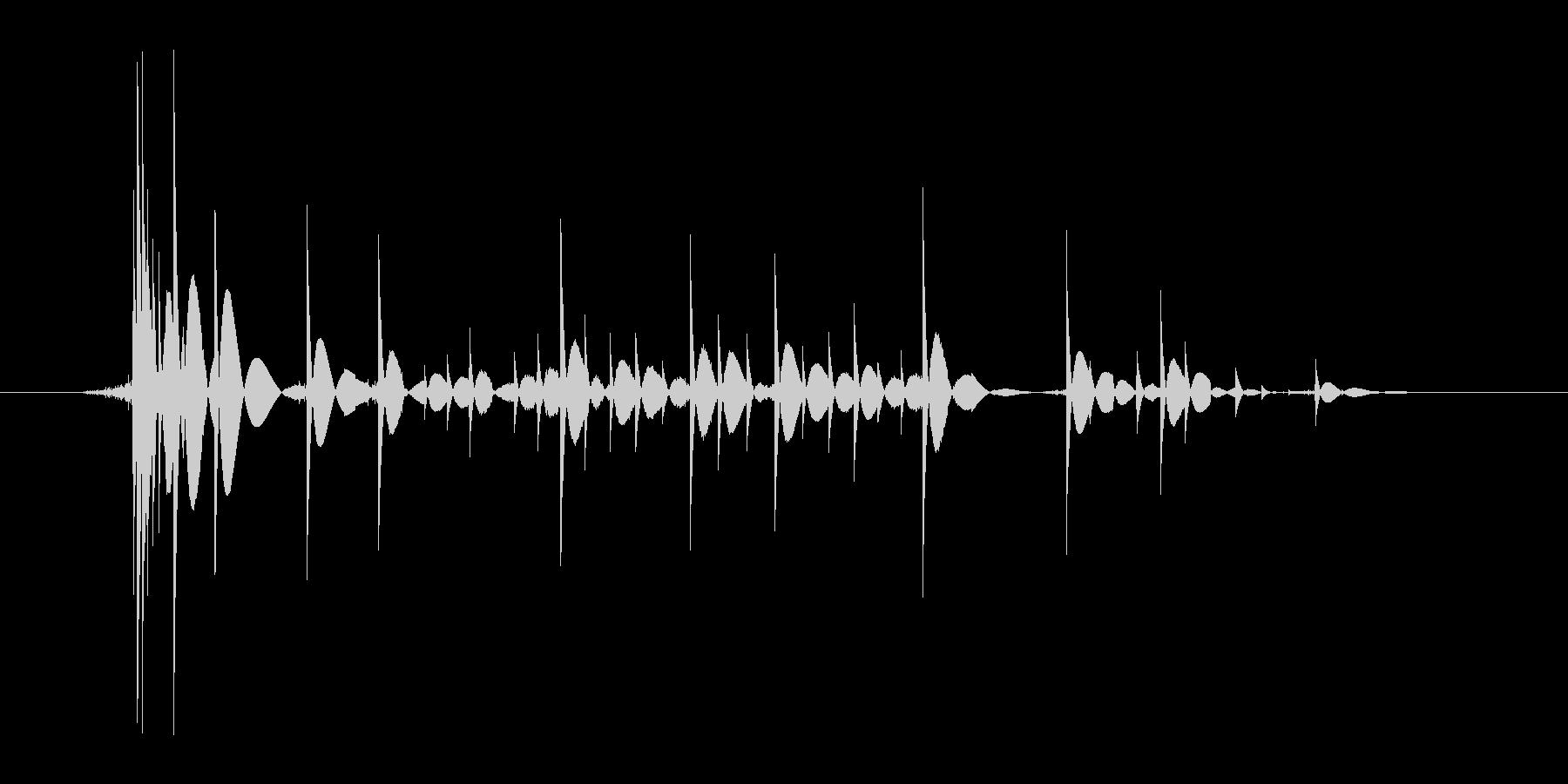 ゲーム(ファミコン風)爆発音_014の未再生の波形