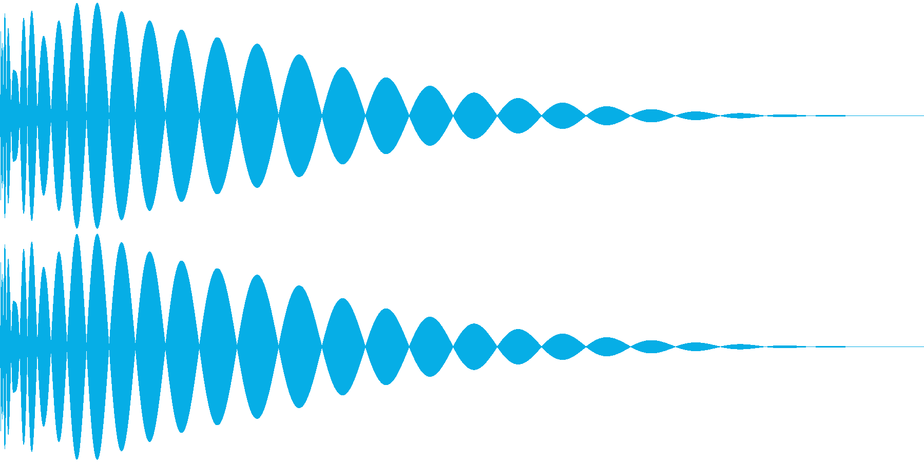 DTM Kick 68 オリジナル音源の再生済みの波形