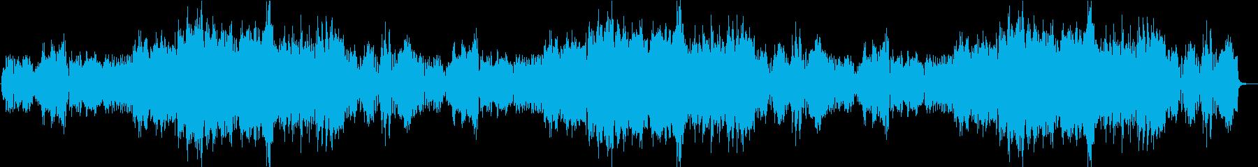 RPGゲームの最初の村のような曲の再生済みの波形