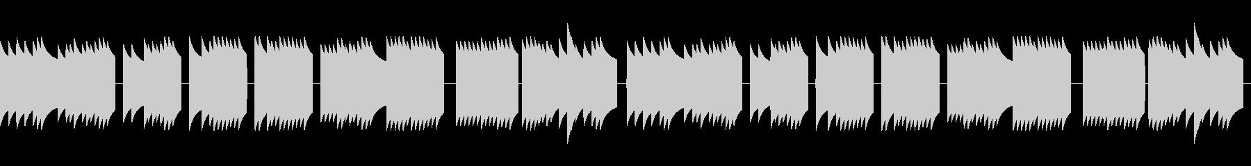 歩行者用信号機の音_とおりゃんせ_05の未再生の波形