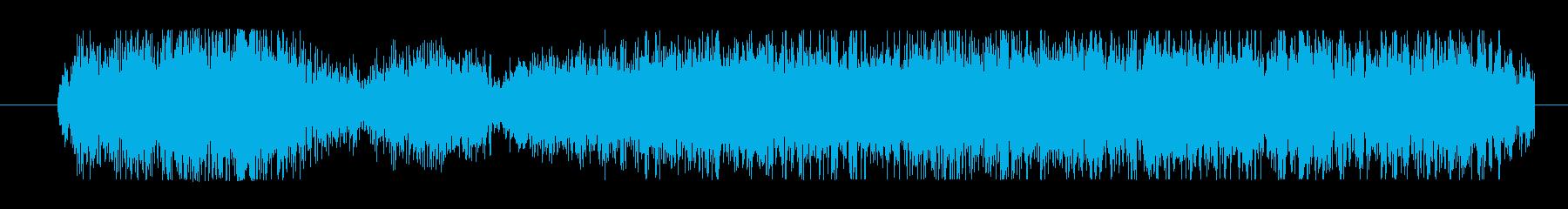 イメージ クレイジートーク09の再生済みの波形