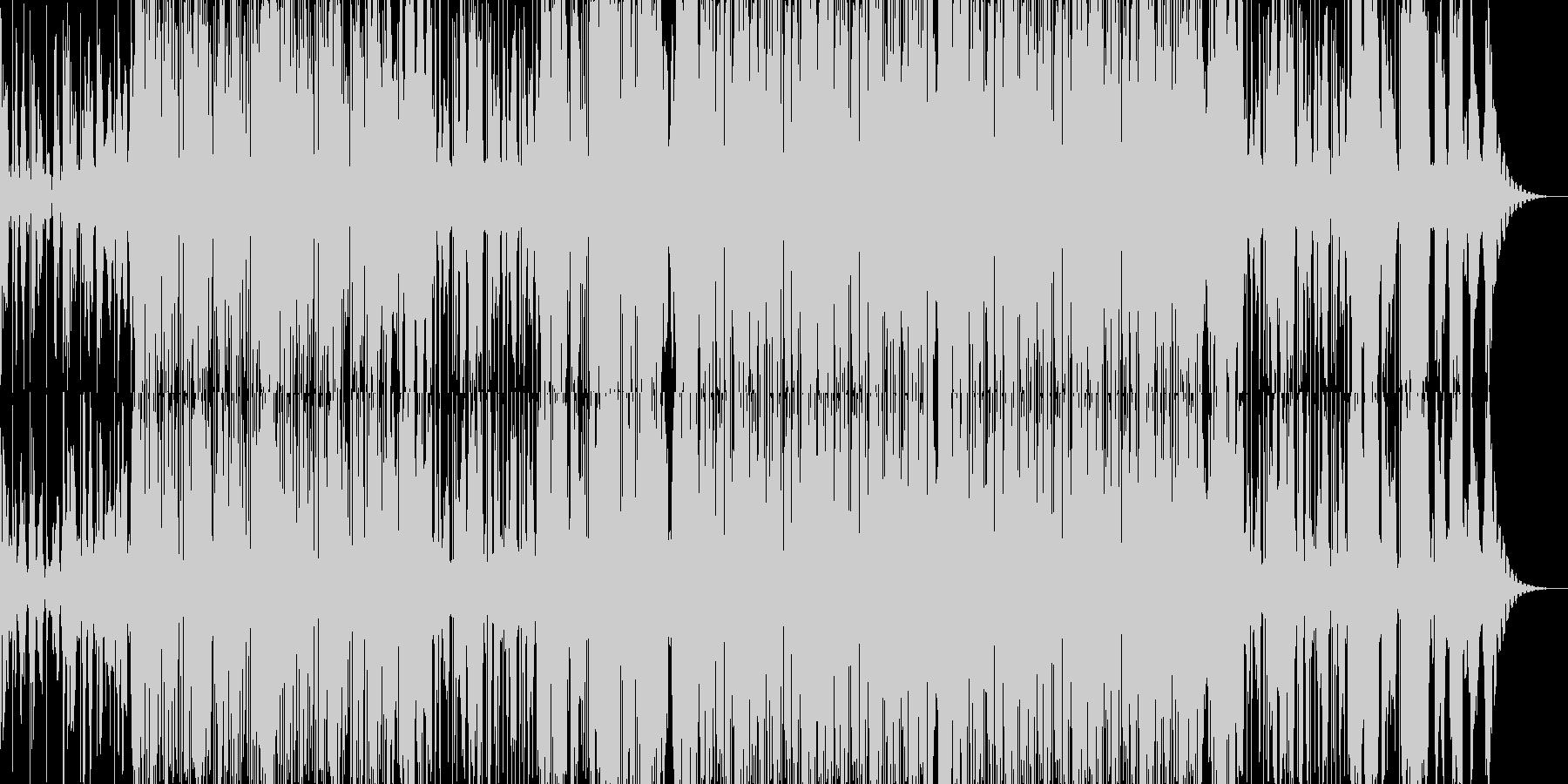 おしゃれな2step(声ネタ無し)の未再生の波形