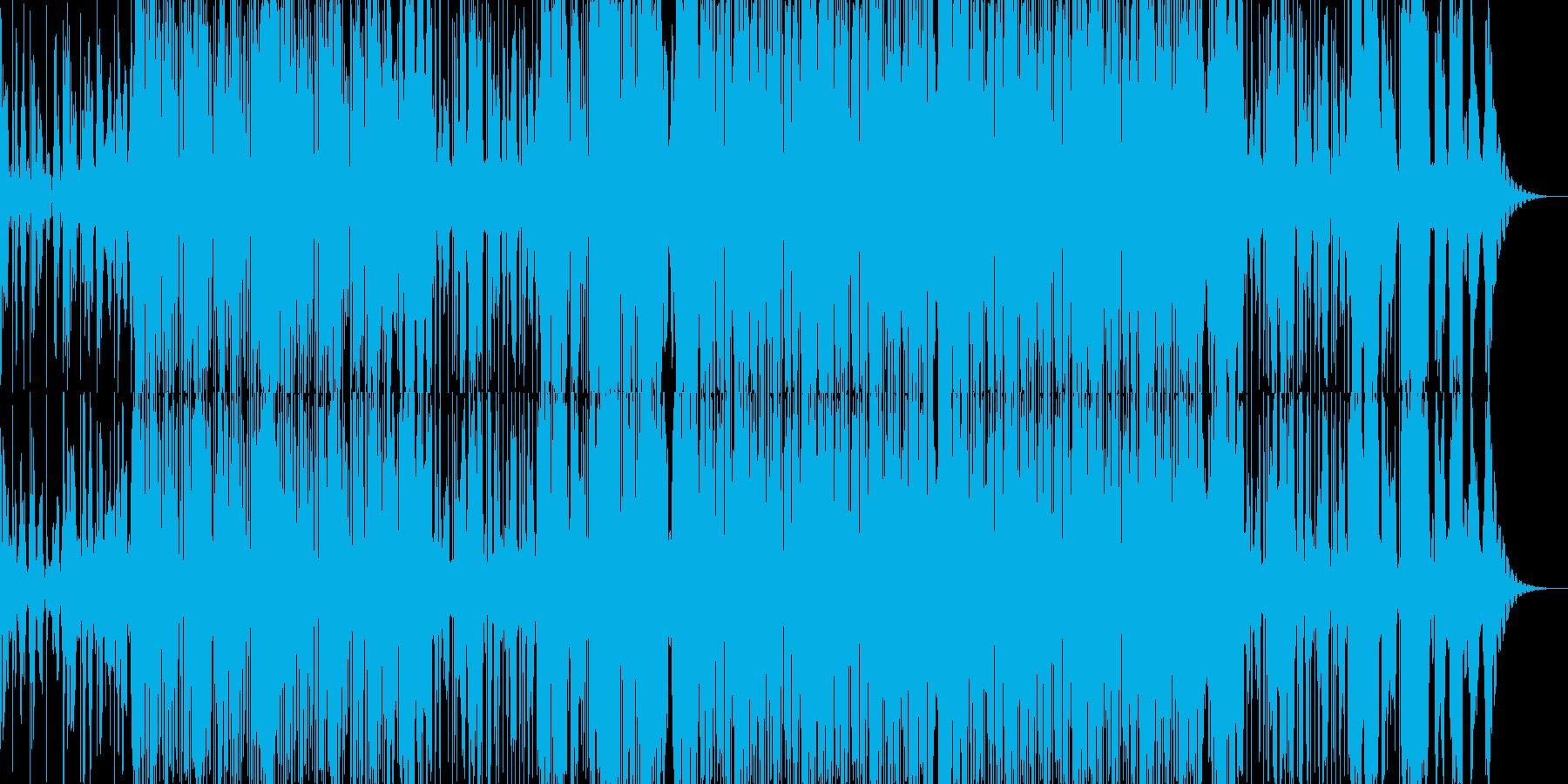 おしゃれな2step(声ネタ無し)の再生済みの波形