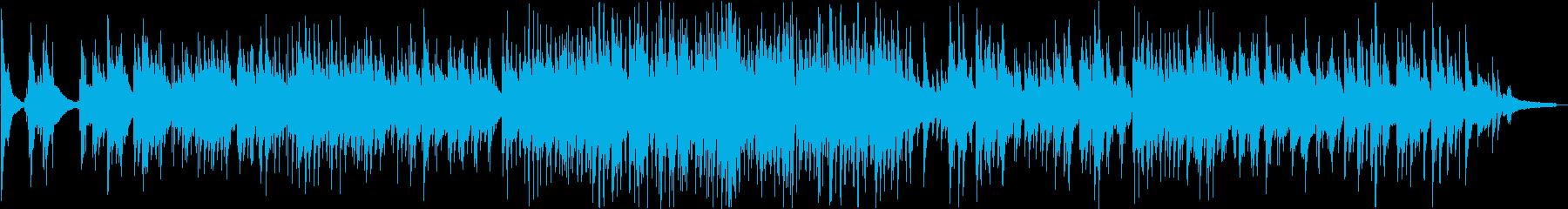 名曲『ゴンドラの唄』のジャズ・アレンジの再生済みの波形