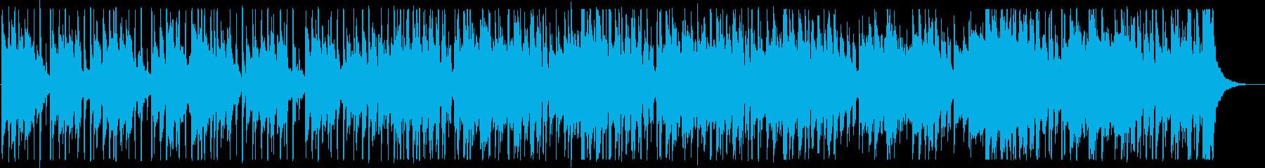 涼しげな夏のカフェBGM_No584_4の再生済みの波形