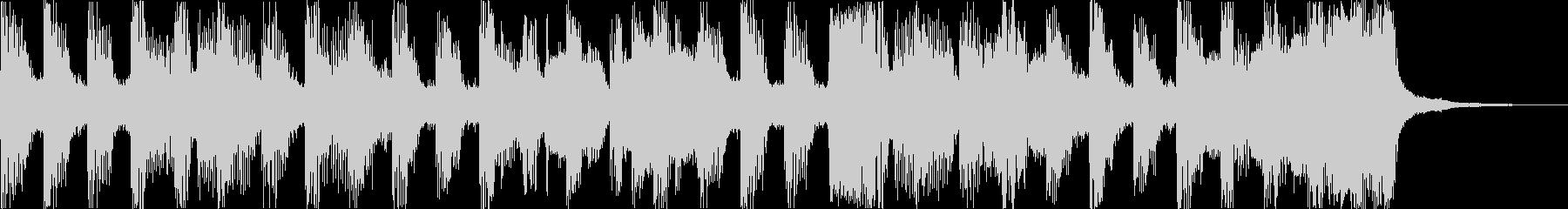 おしゃれチルヒップホップR&Bハウスfの未再生の波形
