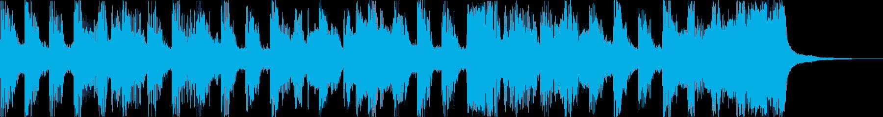 おしゃれチルヒップホップR&Bハウスfの再生済みの波形