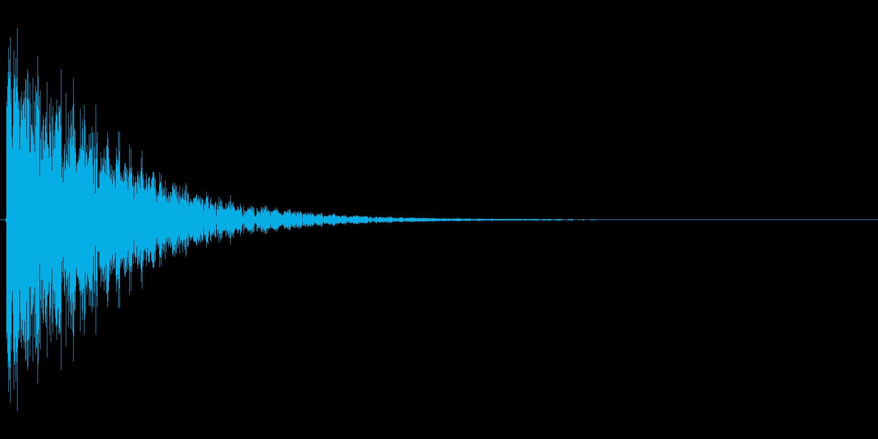 ドシュゥゥゥ...(煙玉、煙幕、忍者)の再生済みの波形