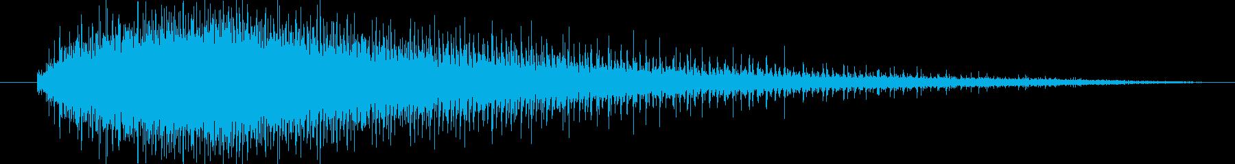 機械 ジグソーエンジン高速中長04の再生済みの波形