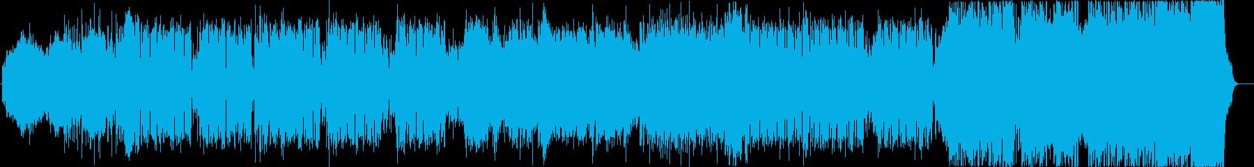 宇宙ROCK!!の再生済みの波形