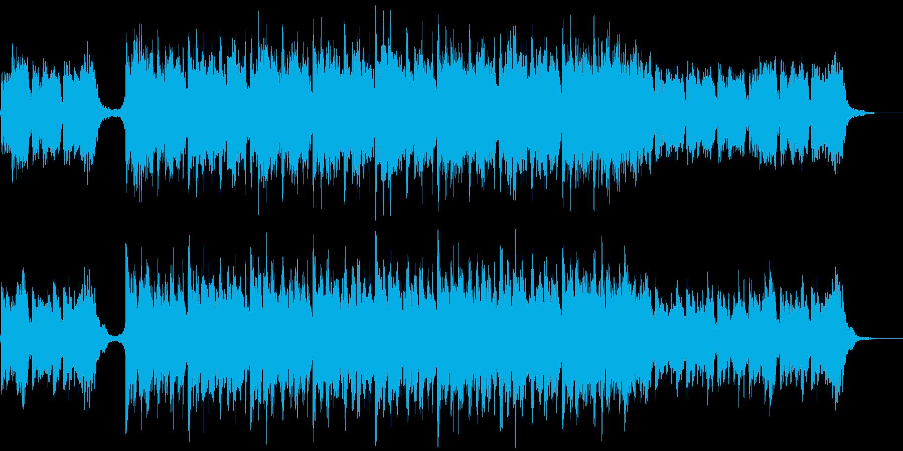 【1分版】透明感のある和風エレクトロニカの再生済みの波形