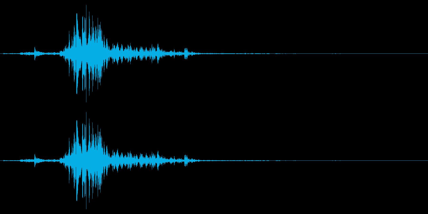 神楽鈴(小) シャンの再生済みの波形