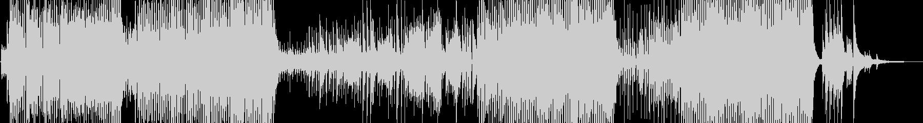 三味線・宴シーンに適したお江戸テクノの未再生の波形