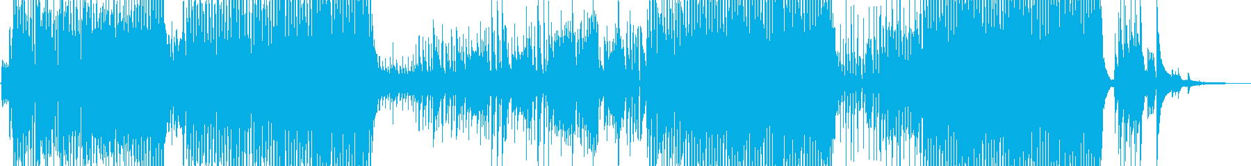 三味線と龍笛の賑やかな宴テクノの再生済みの波形
