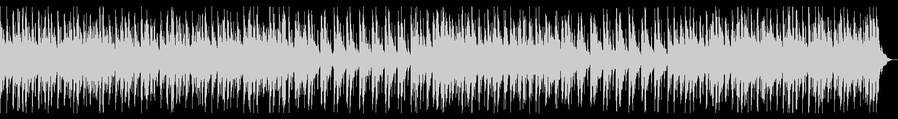 三味線が際立つ和太鼓と尺八の和風音楽の未再生の波形