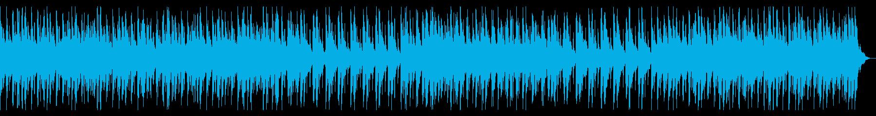 三味線が際立つ和太鼓と尺八の和風音楽の再生済みの波形