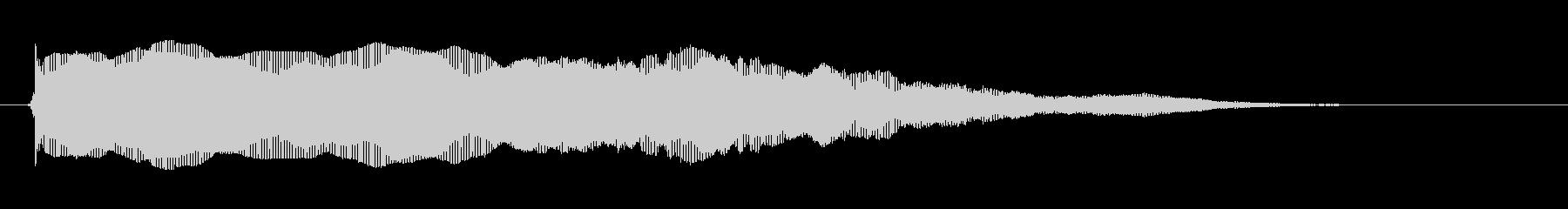 素材 シンセバウンスハイ02の未再生の波形