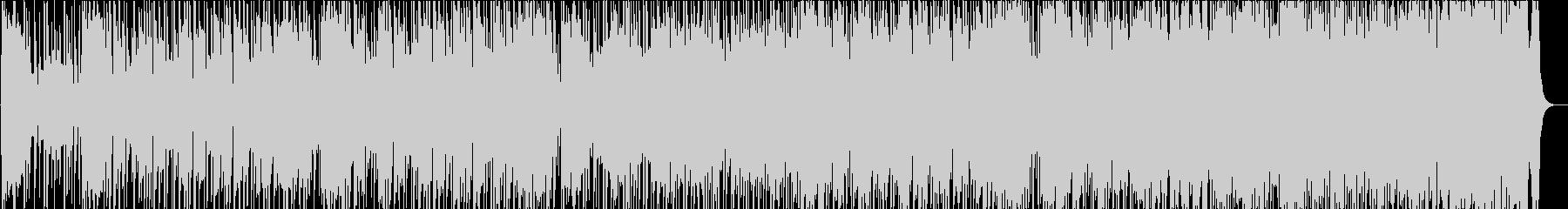 明るく楽しいビンテージブルースロックミュの未再生の波形