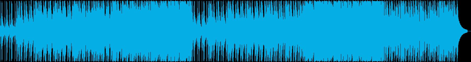 自然の山々の佇まいをイメージしたBGMの再生済みの波形
