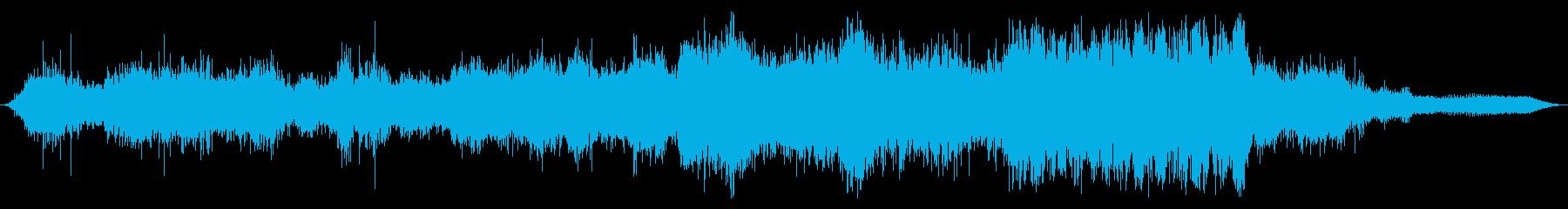 Ext:オンボード:低速から高速へ...の再生済みの波形