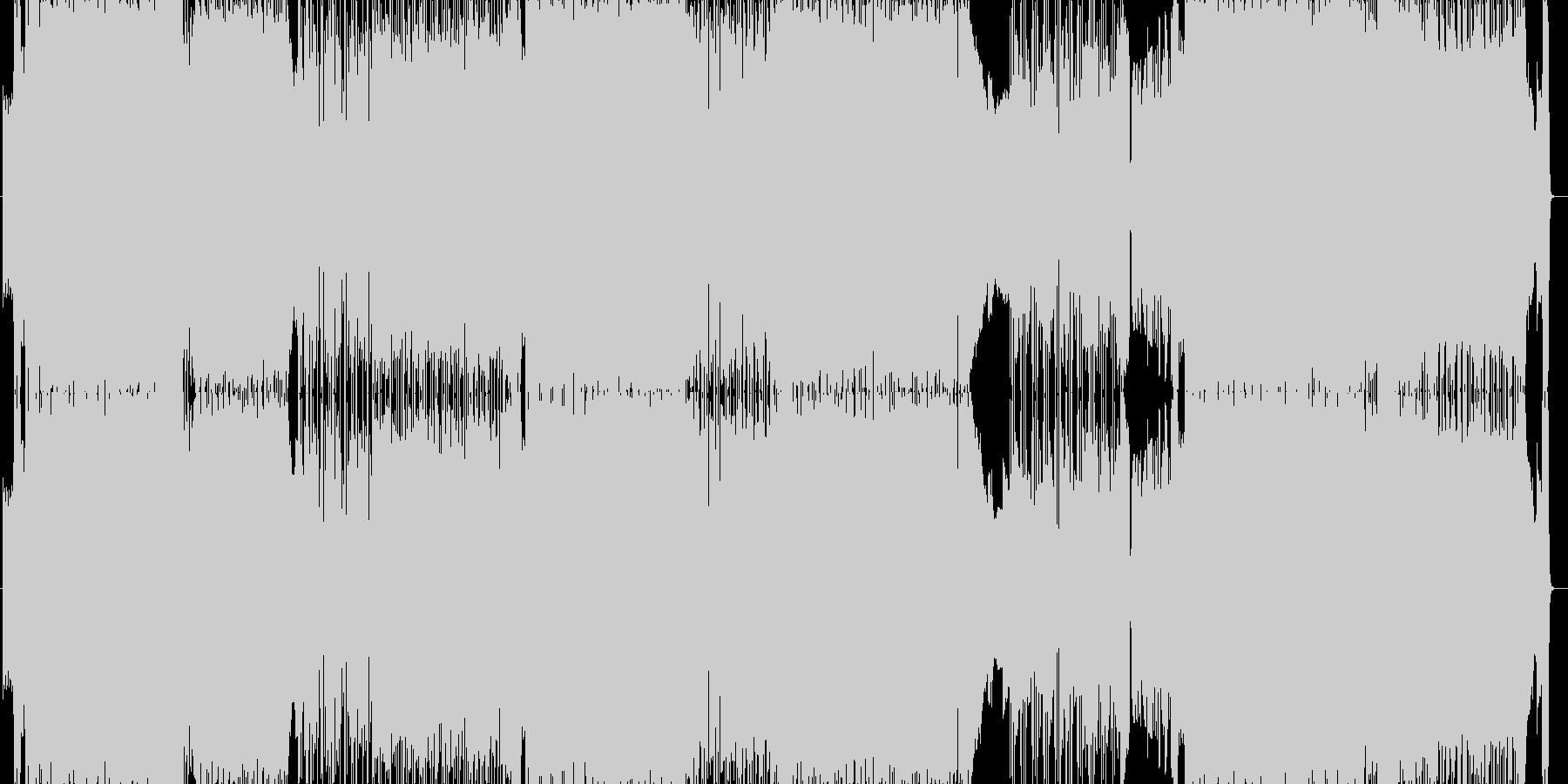 クレイマンズ・ロアの未再生の波形