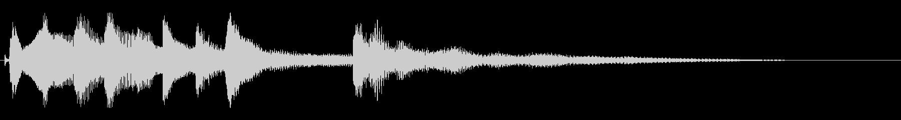 宿屋で一泊する音(琴の音)の未再生の波形