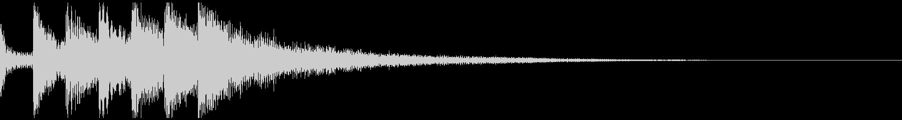 テレビ番組・動画テロップ・汎用UI音jの未再生の波形