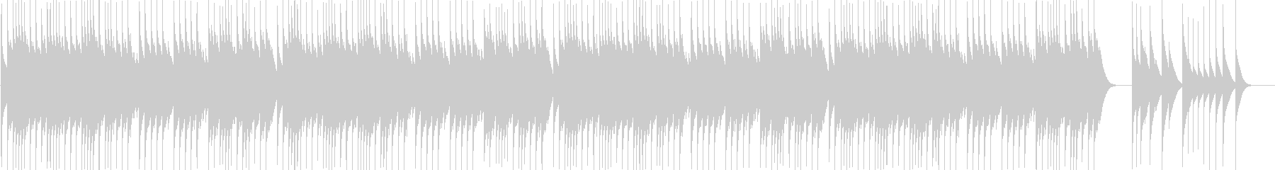 【オルゴール】クリスマス曲Wewish3の未再生の波形
