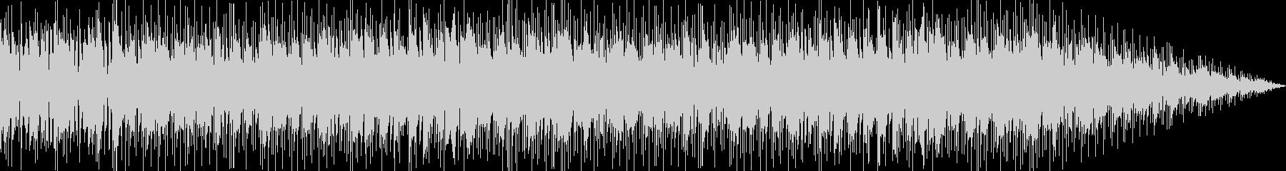 レトロアクションゲーム風ロックBGMの未再生の波形