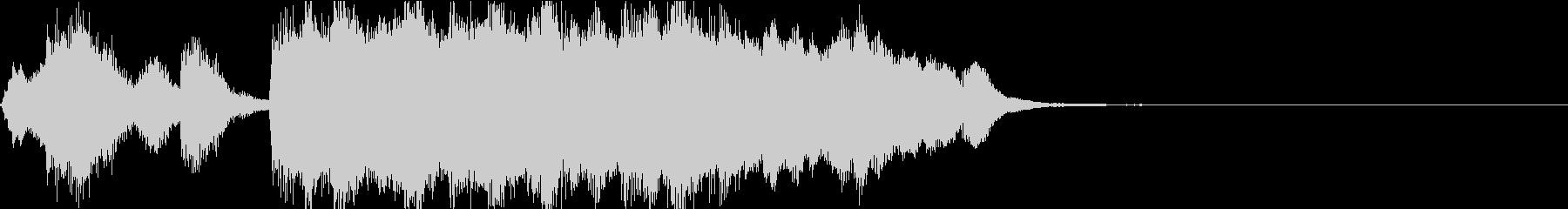 ゲーム・アイキャッチ向け管弦楽ジングルの未再生の波形