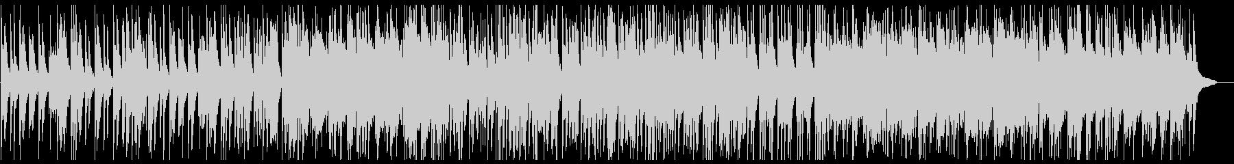 滑らかなスムーズピアノの曲の未再生の波形