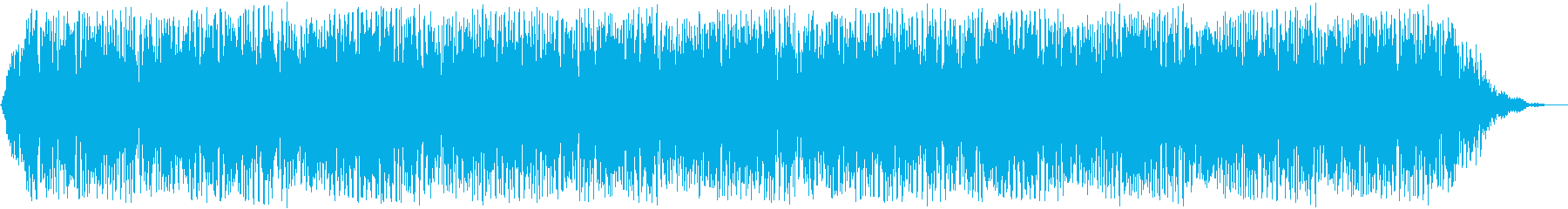 【アンビエント】ドローン_19 実験音の再生済みの波形