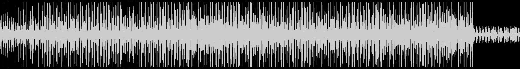 ダーク 洋楽 トラップビートの未再生の波形