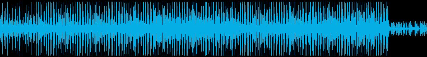 ダーク 洋楽 トラップビートの再生済みの波形