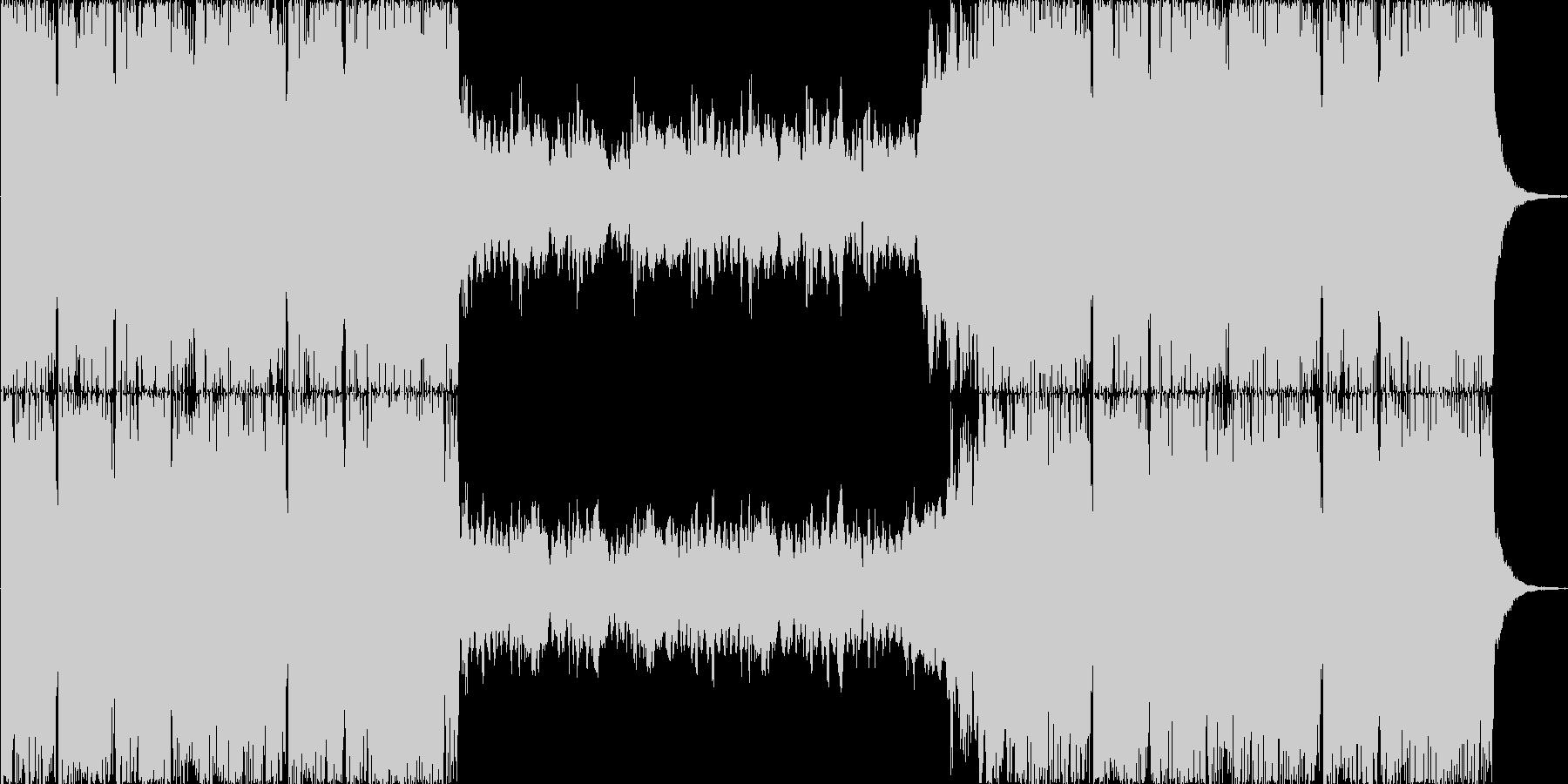 壮大なオーケストラ風の未再生の波形