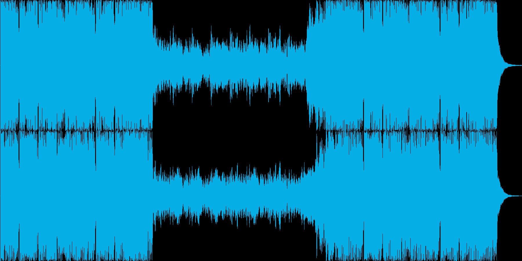 壮大なオーケストラ風の再生済みの波形